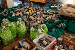 Food drive for the Orange Food Pantry