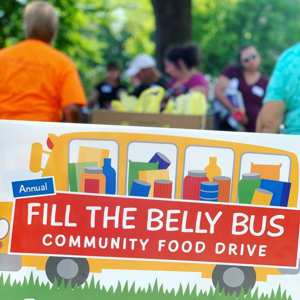 15th Annual Fill the Belly Bus Community Food Drive