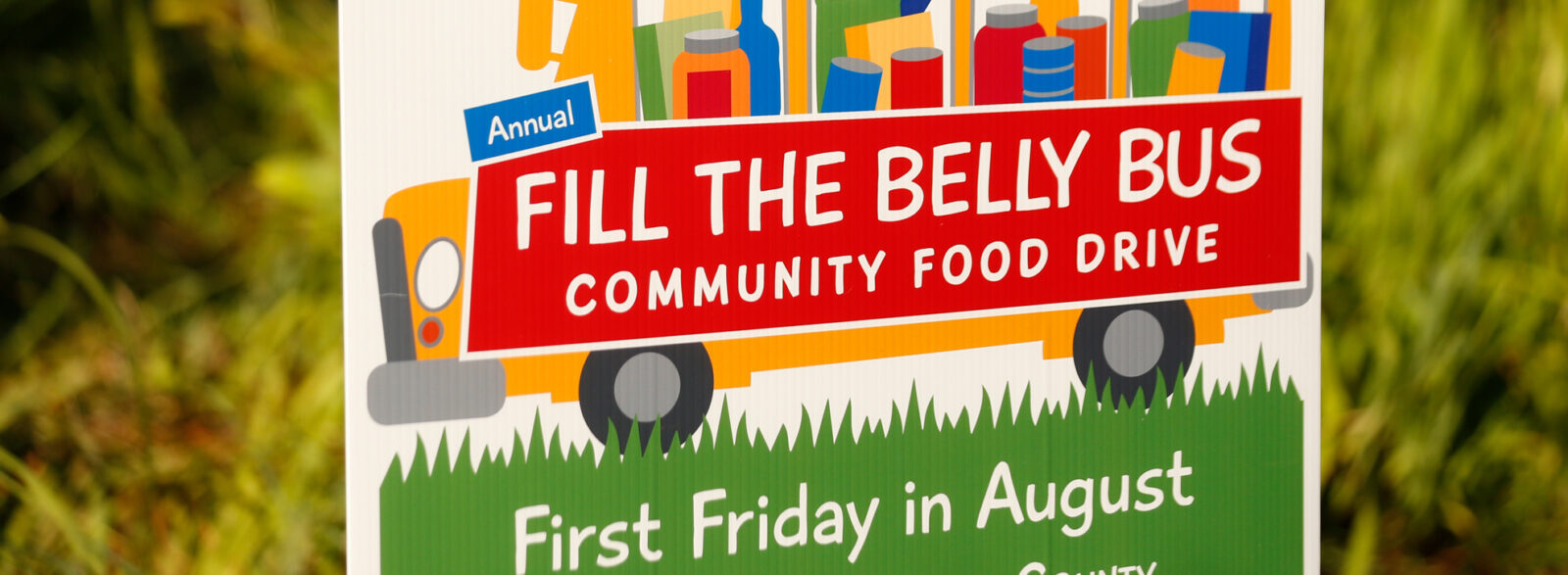 15th Annual Fill The Belly Bus Food Drive