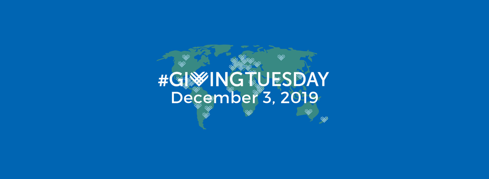 Giving Tuesday Dec 3rd 2019