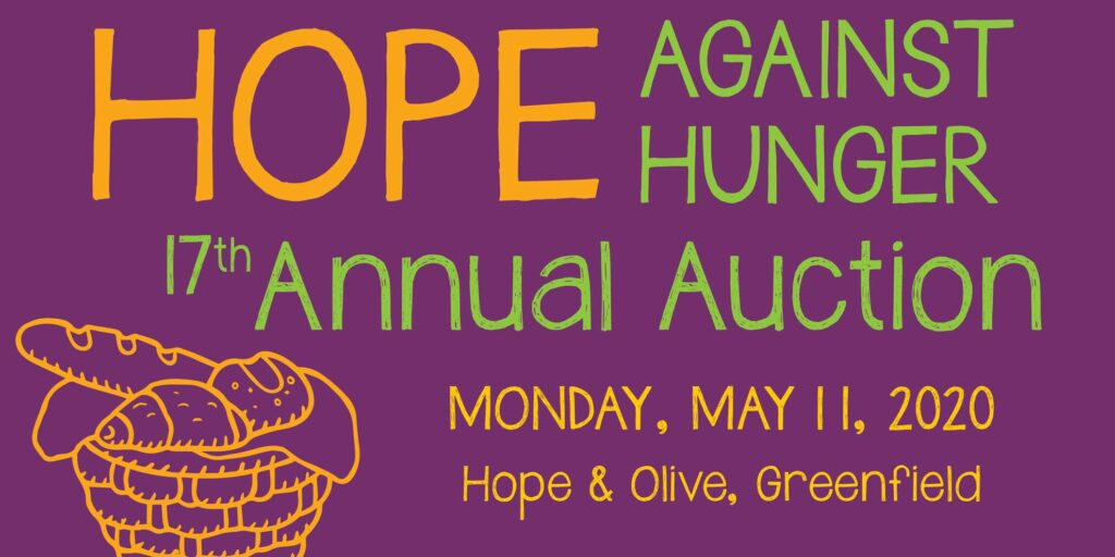 Annual Hope Against Hunger Auction