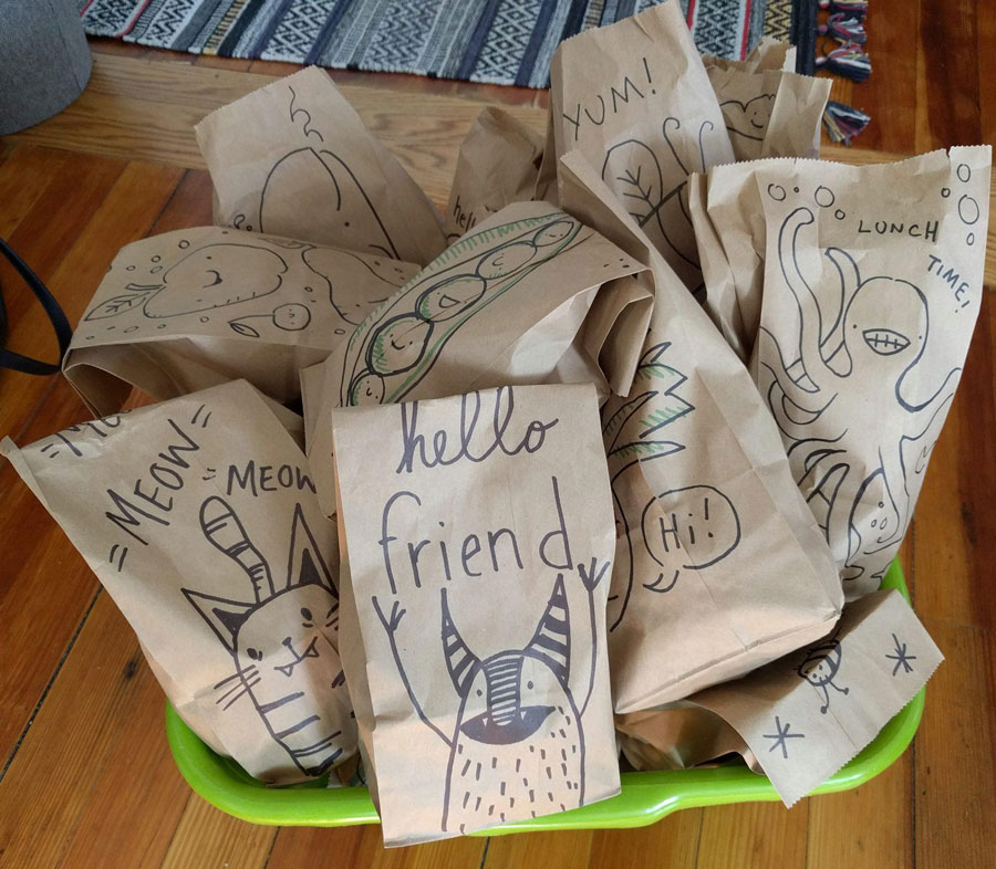 brown bag brigade 2020