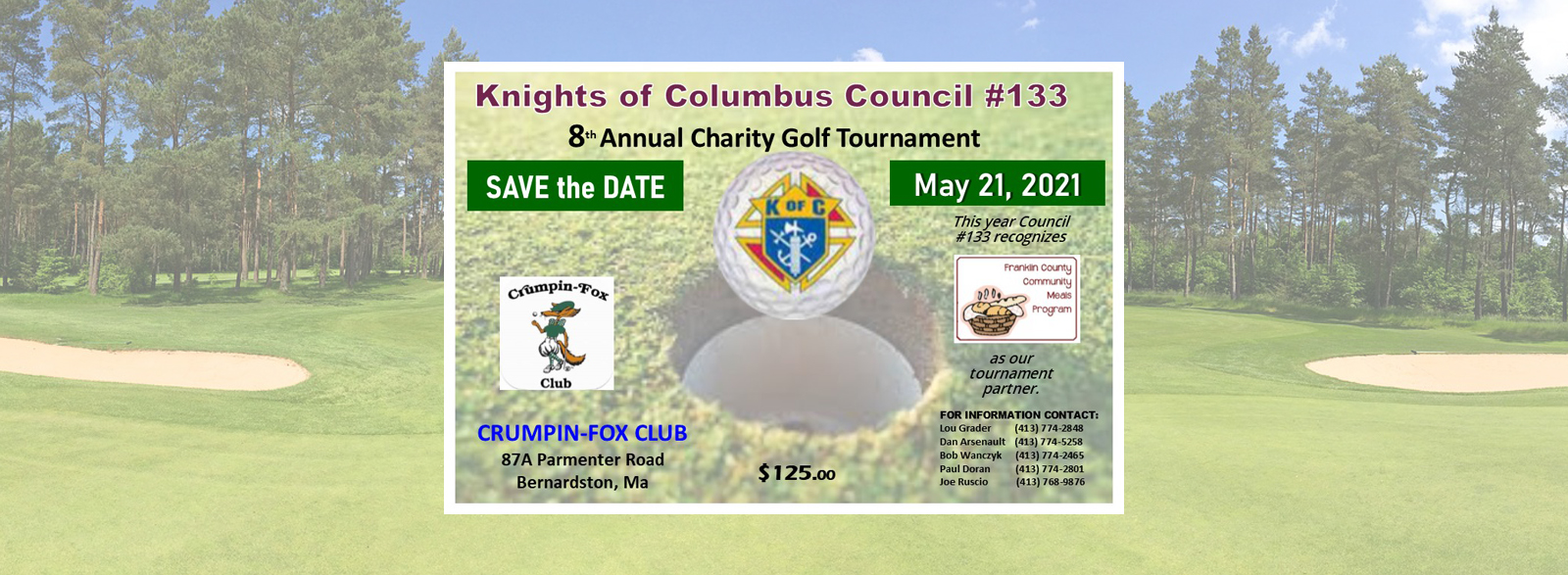 Knights of Columbus Golf Tournament 2021