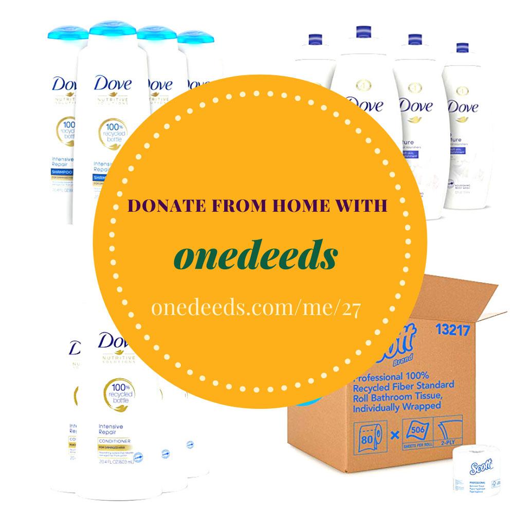 Onedeeds donation link